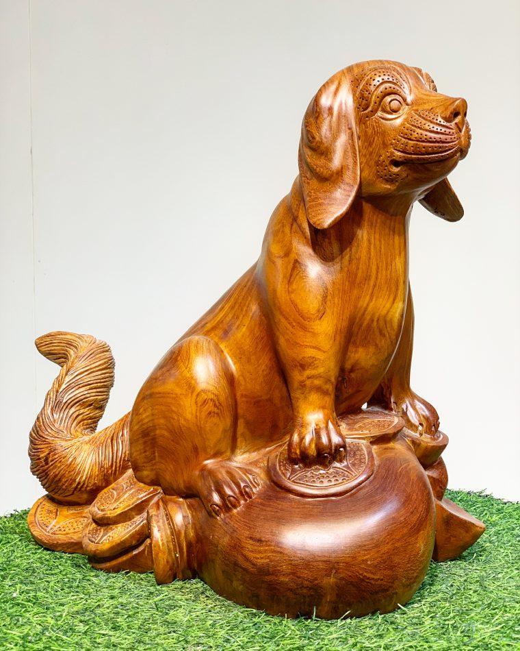 Tượng Chó Tài lộc phong thủy